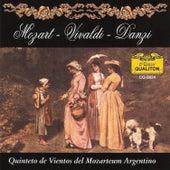 Mozart - Vivaldi - Danzi by Quinteto De Vientos Del Mozarteum Argentino