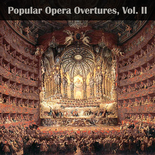 Popular Opera Overtures, Vol. II by London Festival Orchestra