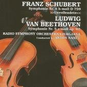 Franz Schubert, Ludwin van Beethoven by Radio Symphony Orchestra Ljubljana