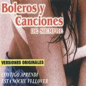 Boleros y Canciones de Siempre by Various Artists