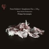 Schubert: Symphonies Nos. 1, 3 & 4 by deFilharmonie