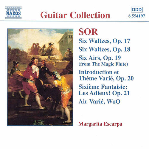 Guitar Music Opp. 17 - 21 by Fernando Sor