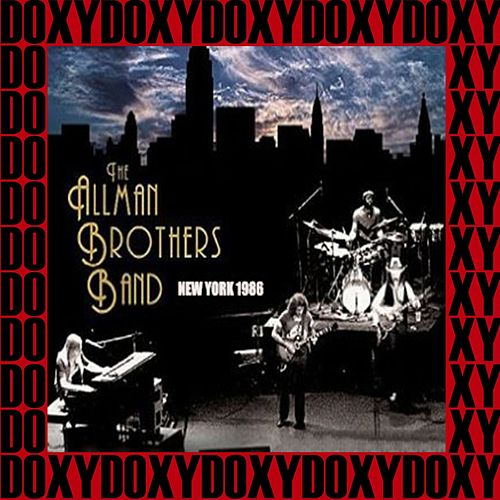 Madison Square Garden, New York, October 31st, 1986 (Doxy Collection, Remastered, Live on Fm Broadcasting) von The Allman Brothers Band