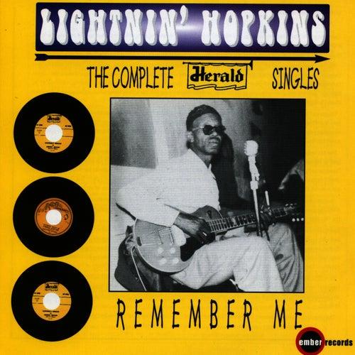 Remember Me by Lightnin' Hopkins