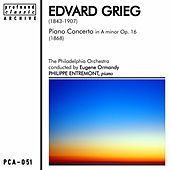 Grieg: Piano Concerto in A Minor, Op. 16 von Philippe Entremont