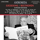 Beethoven: 10 Piano Sonatas (Remastered) by Walter Gieseking
