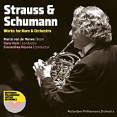 Strauss & Schumann: Works for Horn & Orchestra by Martin Van De Merwe
