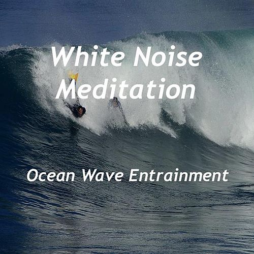 Ocean Wave Entrainment by White Noise Meditation