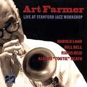 Live At Stanford Jazz Workshop by Art Farmer