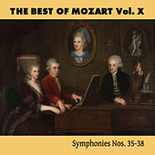 The Best of Mozart Vol. X, Symphonies Nos. 35-38 by Mozart Festival Orchestra
