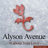 Without Your Love (Anniversary Version) by Alyson Avenue