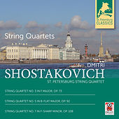 String Quartets Nos. 3, 5, 7 by St. Petersburg String Quartet