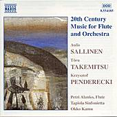 20th Century Music for Flute and Orchestra by Various Artists