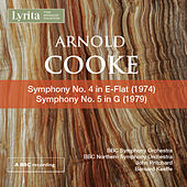 Cooke: Symphonies Nos. 4 & 5 by BBC Symphony Orchestra