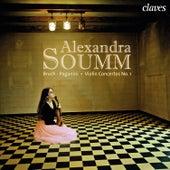 Bruch - Paganini: Violin Concertos No. 1 by Alexandra Soumm