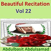 Beautiful Recitation, Vol. 22 (Quran - Coran - Islam) by Abdul Basit Abdul Samad