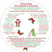 The Santa Versus Godzilla Project: The 12 Songs of Christmas by Three Day Threshold