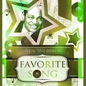 Favorite Song von Ben Webster