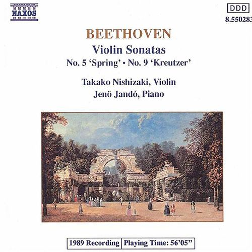 'Spring' and 'Kreutzer' Sonatas by Ludwig van Beethoven