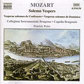 Solemn Vespers by Wolfgang Amadeus Mozart