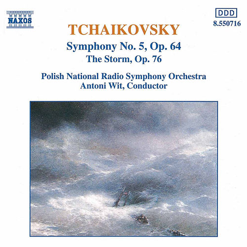 Symphony No. 5 / The Storm by Pyotr Ilyich Tchaikovsky