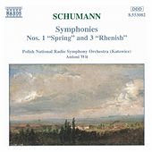 Symphonies Nos. 1 'Spring' and 3 'Rhenish' by Robert Schumann