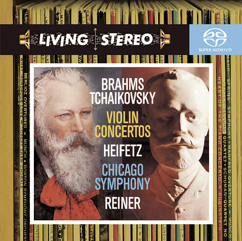 Brahms; Tchaikovsky: Violin Concertos by Jascha Heifetz