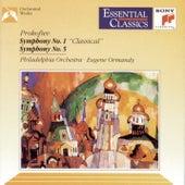 Prokofiev: Symphony Nos. 1 & 5 by Philadelphia Orchestra