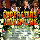 Superstars der Volksmusik by Various Artists