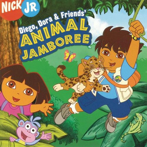 Diego, Dora & Friends' Animal Jamboree by Dora the Explorer