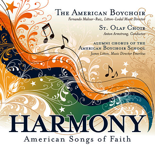 Harmony: American Songs Of Faith by American Boychoir
