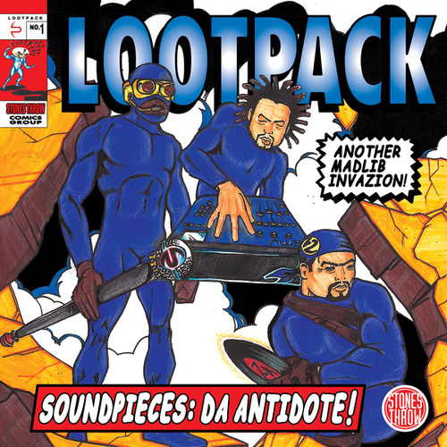 Soundpieces: Da Antidote! by Lootpack