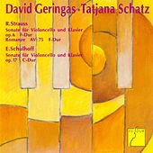 Strauss: Sonata F Major, TrV 115; Romanze F Major, TrV 118 - Schulhoff: Sonata C Major, Op. 17 by David Geringas