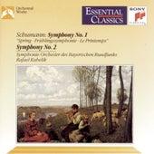 Schumann:  Symphonies Nos. 1 & 2 by Symphonie-Orchester des Bayerischen Rundfunks