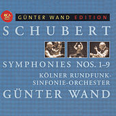 Schubert: Symphonies Nos. 1-9 by Günter Wand