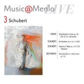 Music@Menlo LIVE, Schubert, Vol. 3 by Various Artists