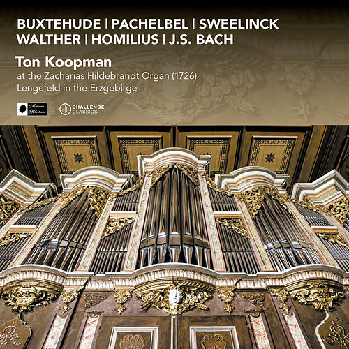 Ton Koopman at the Zacharias Hildebrandt Organ (1726) In Lengefeld in the Erzgebirge by Ton Koopman