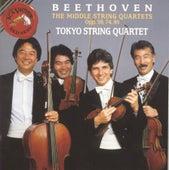 Beethoven: Middle Quartets Opp. 59, 74, 95 by Tokyo String Quartet