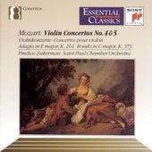 Violin Concertos Nos. 4 & 5, Adagio, K. 261 & Rondo, K. 373 by Pinchas Zukerman