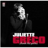 Greco chante les poètes by Juliette Greco