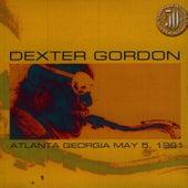 Atlanta Georgia May 5, 1981 by Dexter Gordon