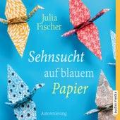 Sehnsucht auf blauem Papier by Julia Fischer