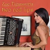 Two Red Lips by Zoe Tiganouria (Ζωή Τηγανούρια)