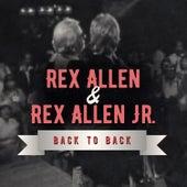 Back to Back: Rex Allen & Rex Allen Jr (Live) by Various Artists