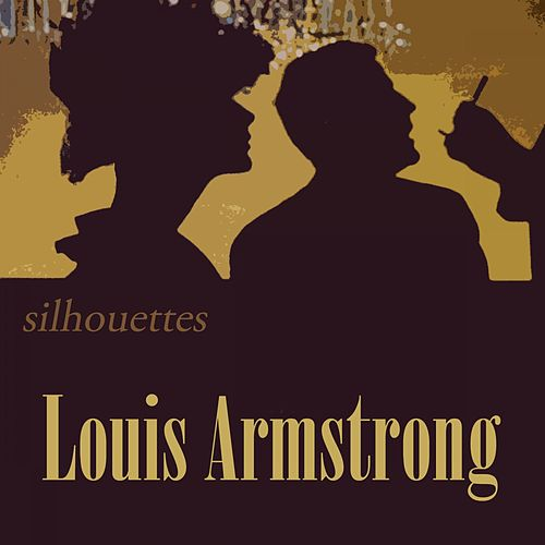 Silhouettes von Louis Armstrong