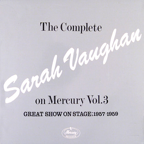 The Complete Sarah Vaughan...Vol. 3 by Sarah Vaughan