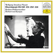 Mozart: Divertimenti KV 247, 251, 287 & 334 by Berliner Philharmoniker