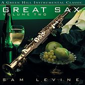 Great Sax Vol. 2 by Sam Levine