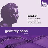 Schubert: Four Impromptus & Three Piano Pieces by Geoffrey Saba