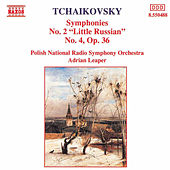 Tchaikovsky: Symphonies Nos. 2 and 4 by Polish National Radio Symphony Orchestra